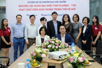 Các nhà khoa học Việt công bố và chuyển giao độc quyền nguyên liệu Nano bạc Plasma – TSN