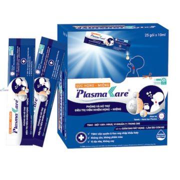 Súc họng miệng PlasmaKare dạng túi – Giải pháp tại chỗ cho bệnh hô hấp