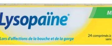 Thuốc ngậm đau họng Lysopaine giảm nhanh đau rát họng