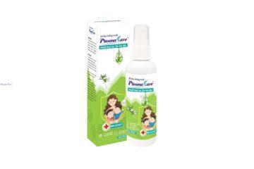 Xịt chống muỗi PlasmaKare hiệu quả suốt 4h, an toàn cho bé