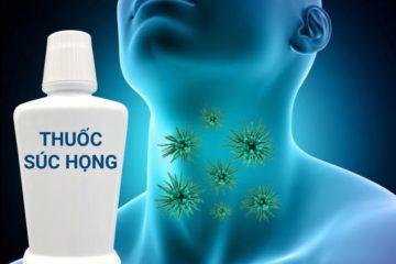 Thuốc súc họng giải pháp điều trị tại chỗ bệnh đường hô hấp hạn chế kháng sinh