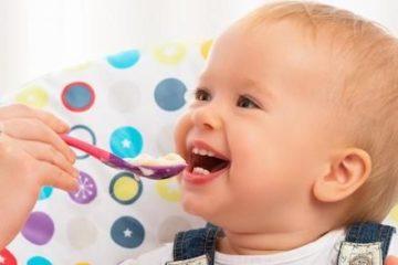 Các thành phần dinh dưỡng cho trẻ mọc răng cần lưu ý