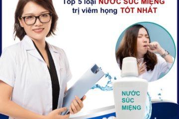 Review chi tiết về 5 loại nước súc miệng trị ho tốt nhất hiện nay