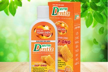 Công dụng của nước súc miệng Nutridentiz