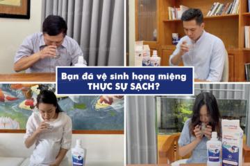 Cơ chế kháng khuẩn, chống viêm, liền loét và làm sạch vượt trội của Súc họng miệng PlasmaKare